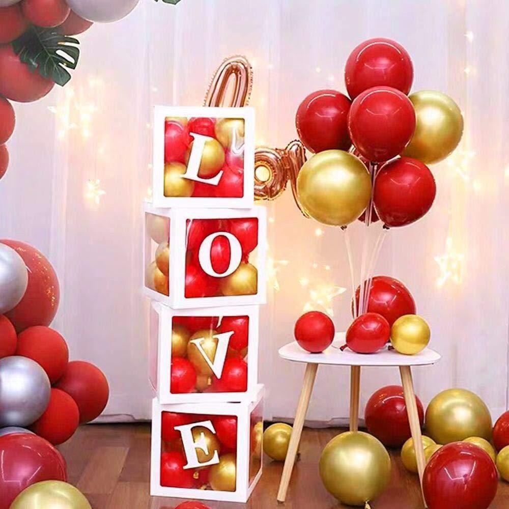30cm Box Balloon Air Balls 1st Birthday Party Decorations Kids Baloon Ballons Decoration Birthday Balloon Babyshower