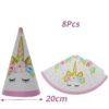 8pcs Paper Hat
