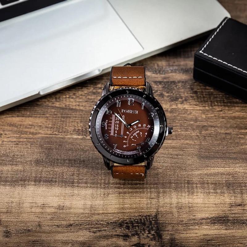 JESOU Watches Set Retro Men Wrist Watch Belt Sunglasses Folding wallet Tie Suit Present Box Gift Sets for Men's Dad Father's Day
