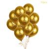 10pcs Gold Balloons