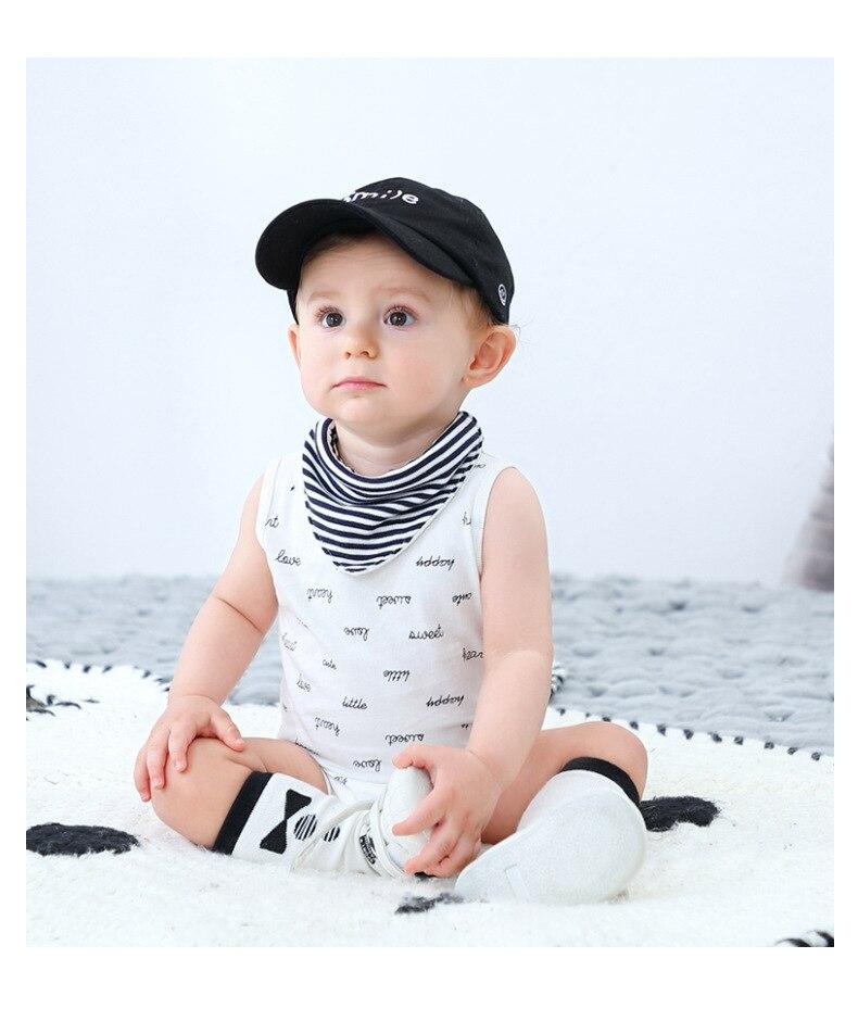 Baby Boy Romper 0-24M Summer Newborn Baby Clothes For Boy Sleeveless Kids Boys Jumpsuit Baby Boys Infant Onesie Costume