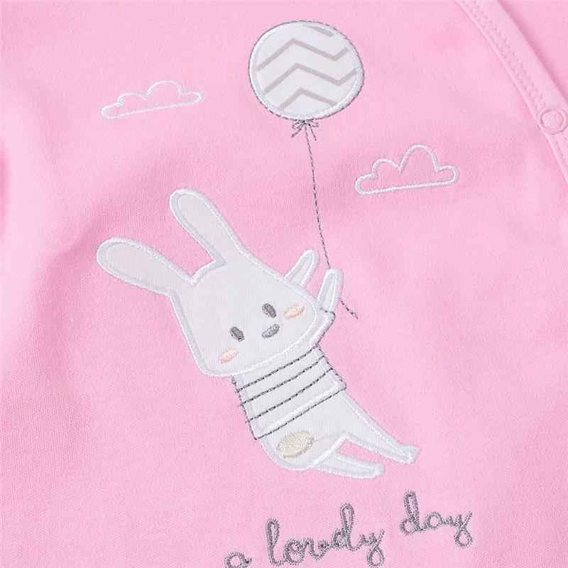 SAILEROAD Cartoon Cute Animals Print Baby Onesies Newborn Footed pajamas roupa de bebes Infant Cotton Jumpsuit Baby Girl Clothes