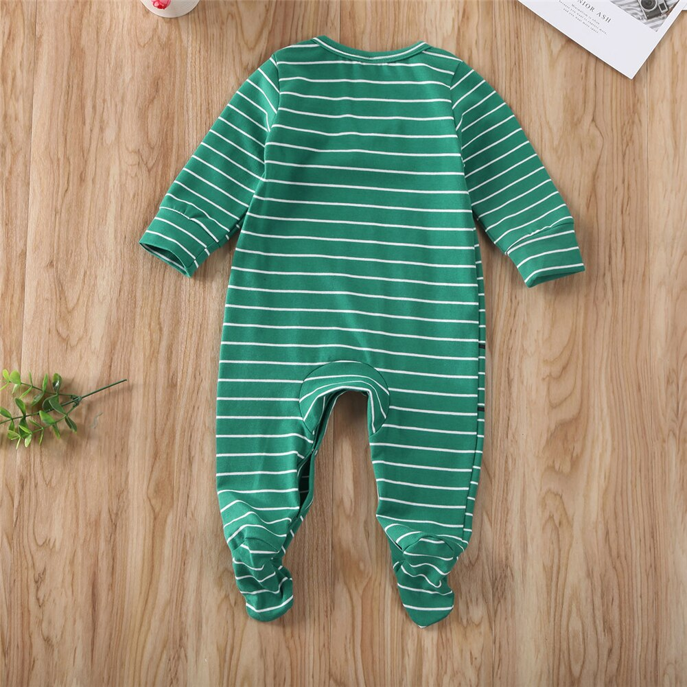 2019 NEW infant newborn boy girl wrapped Footies jumpsuit cotton comfortable cute printed long sleeve palysuit 0-6M baby clothes