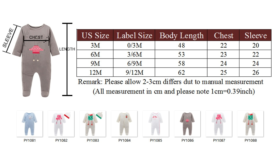 2020 New born Baby Rompers Jumpsuit Organic Cotton Infant Baby Clothes for Gifts Beige Toddler Boys Girls Rompers Bebe Roupas
