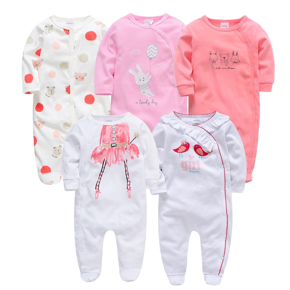Kavkas Autumn Winter Baby Pyjamas Bebe Roupao De Banho Newborn Gown Baby Boy Pajamas Full Sleeve Sleepwear Set Baby Clothing