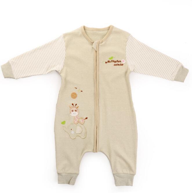 Baby sleep bag  Clothing pajamas Sleep Gowns Newborn Onesies girls boys cotton warm Printing long sleeve