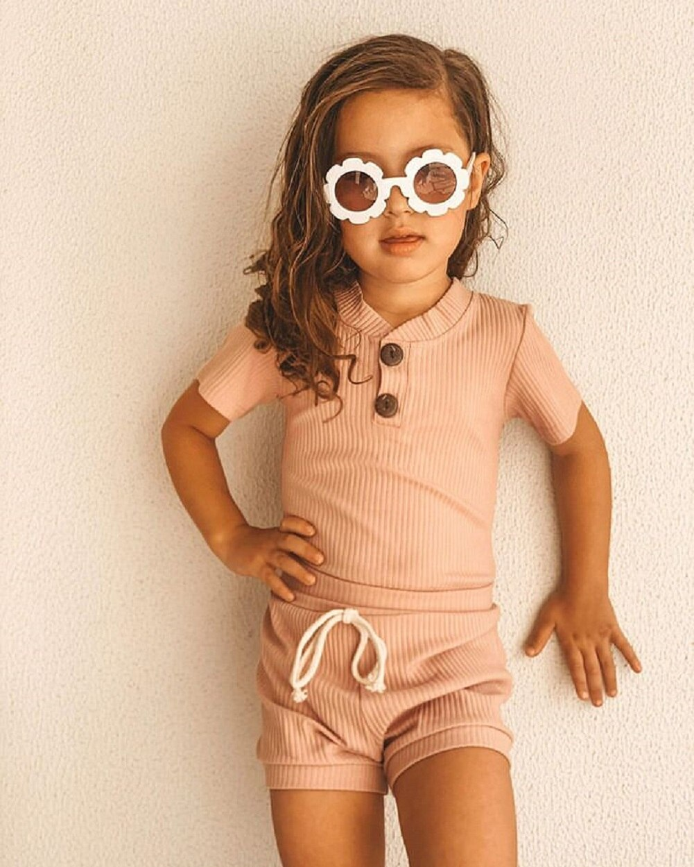 Newborn Kid Baby Boy Girl Clothes Short Sleeve Romper Bodysuit For Newborn Outfits 2020 Summer Baby Boys Girls Set