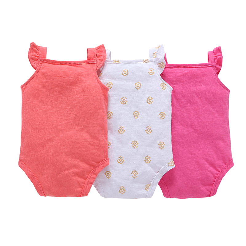 sleeveless bodysuit for baby boy girl summer clothes love heart body suit 2020 newborn bodysuits new born clothing 6-24 month
