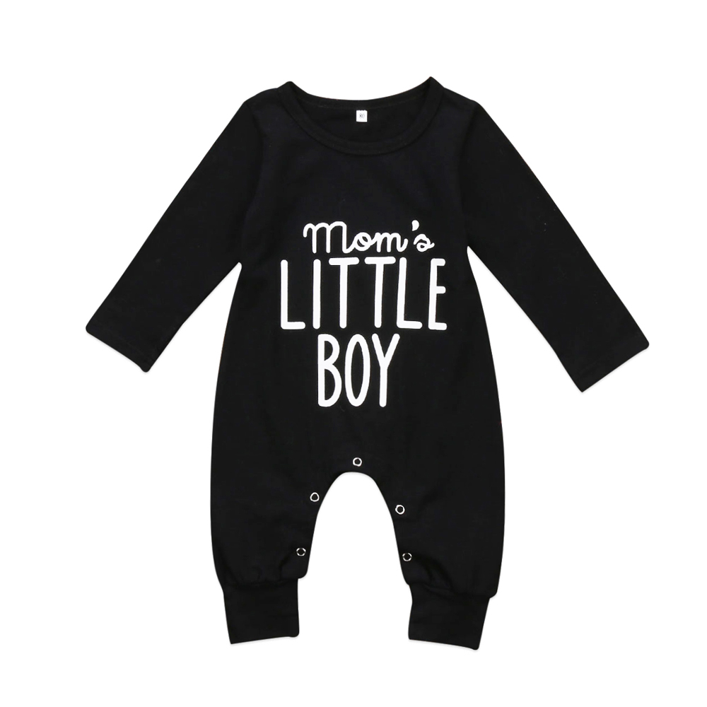 2020 Hot Little Boy Baby Romper Newborn Baby Boy Girl Clothes Rompers Long Sleeve Cotton One-pieces Jumpsuit Spring Outfit 0-24M