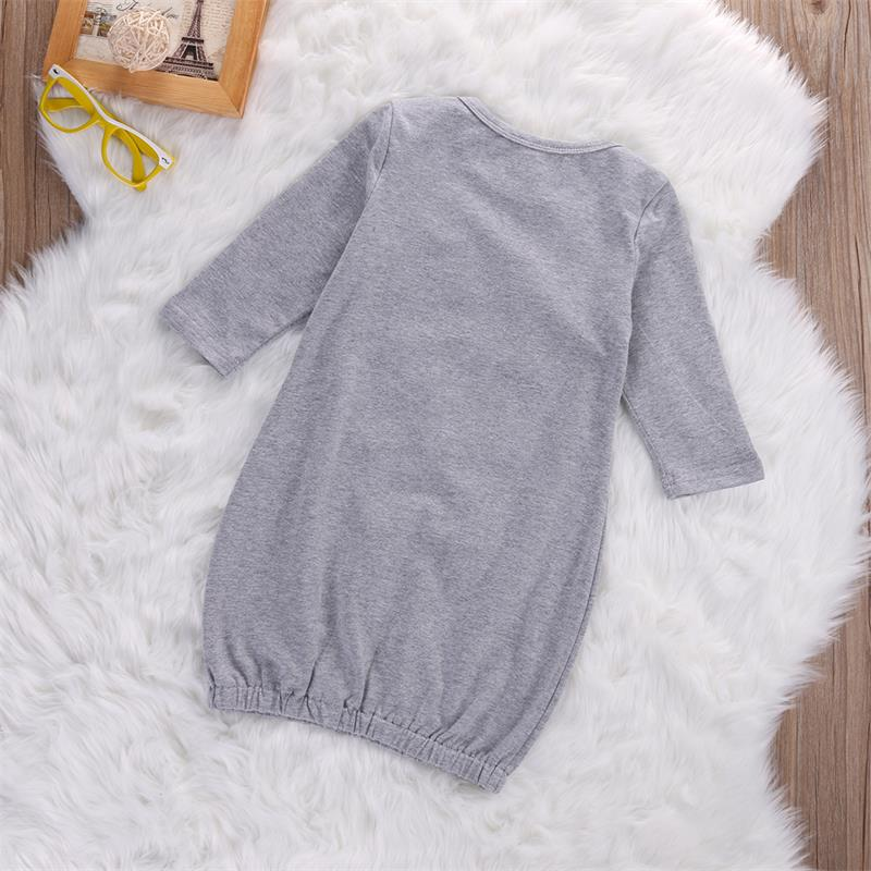 Autumn Newborn Toddler Baby Boys Girls Long Sleeve Romper Bodysuit Sleeping Bags Pajama Sleepsack Cotton Overalls Sleep Gown