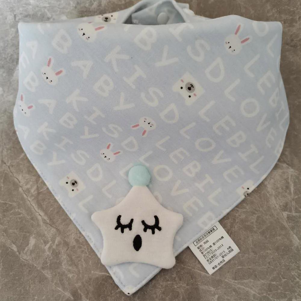 Hot Selling Cotton Baby Bibs Lace Cartoon Floral Princess Feeding Bandana Bibs Cute Newborn Boy Girl Burp Cloths Infant Stuff