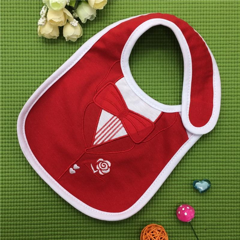 100% Cotton Baby Bibs Waterproof Bandana Baby Girls boys Bibs & Burp Cloths Baby Clothing Product Towel Bandanas Wholesale DS19