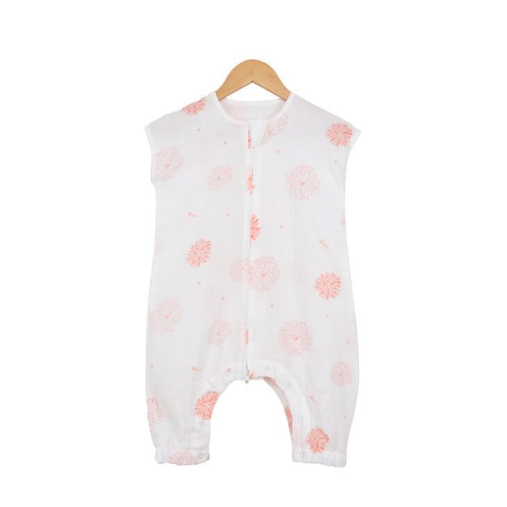 Baby Sleepwear Newborn Gown Infant Sleeping Bag Split leg Summer boy girl sleepers blanket gauze  BHB007